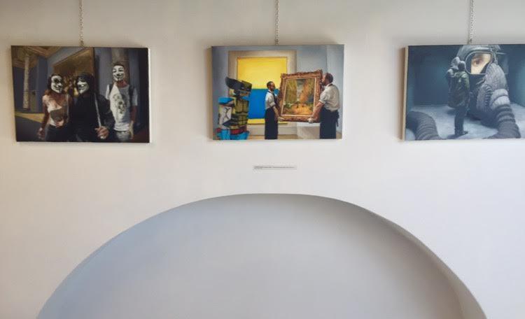 """IZLOŽBA"""" IL RITORNO ALLA FIGURAZIONE"""", EX-FORNACE , MILANO, ITALIJA, 2016."""