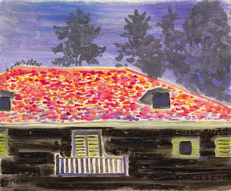 Grgur-Akrap-Black-House-oil-on-canvas-34-5x42cm-2018_2019