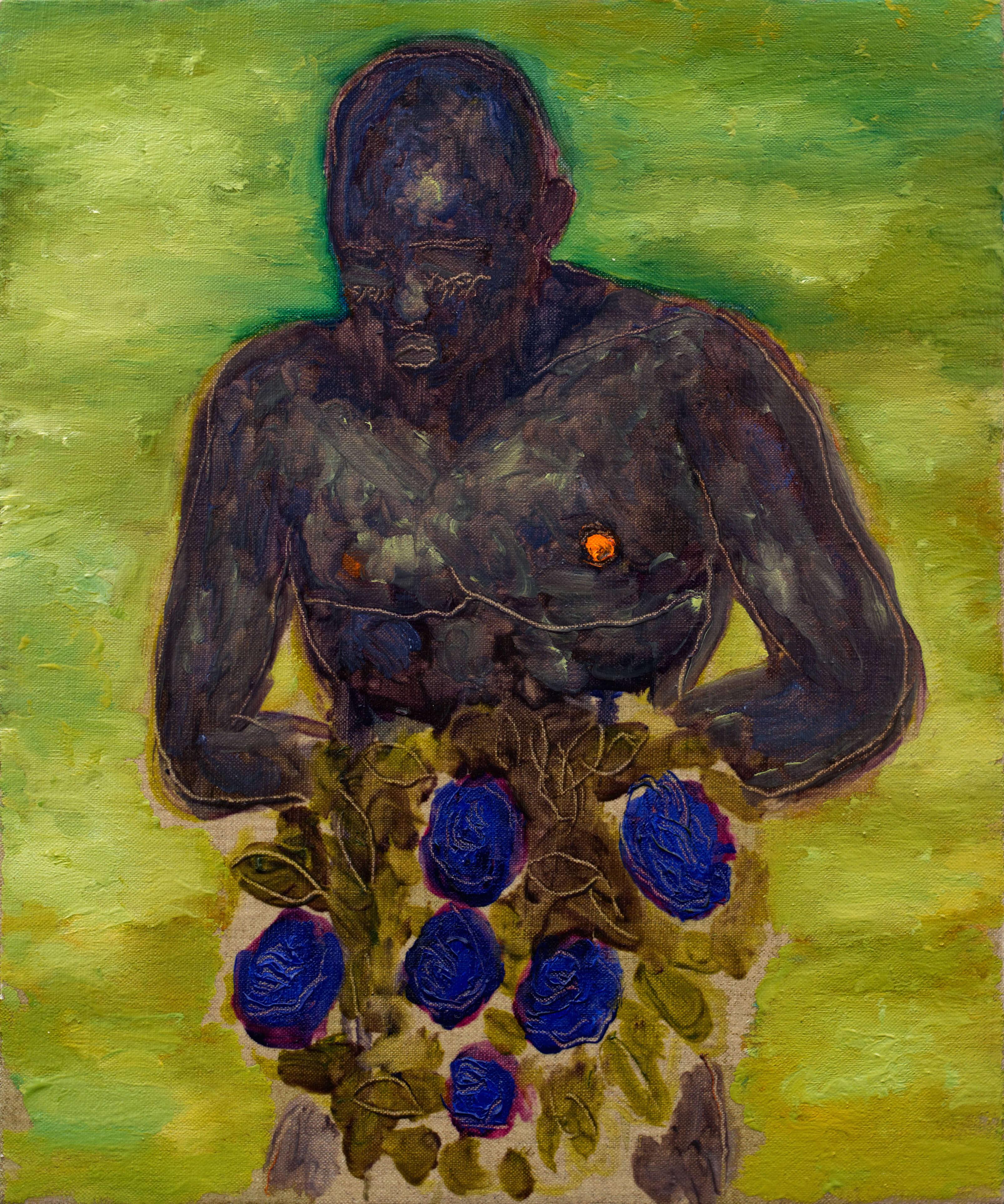 Grgur-Akrap-The-Lover-42x35cm-oil-on-canvas-2019.