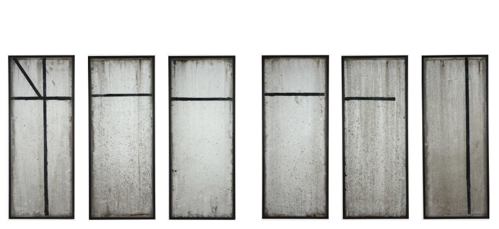 Greenhouse 37, 2013, acrylic/ glass, 240 x 570 x 260 cm