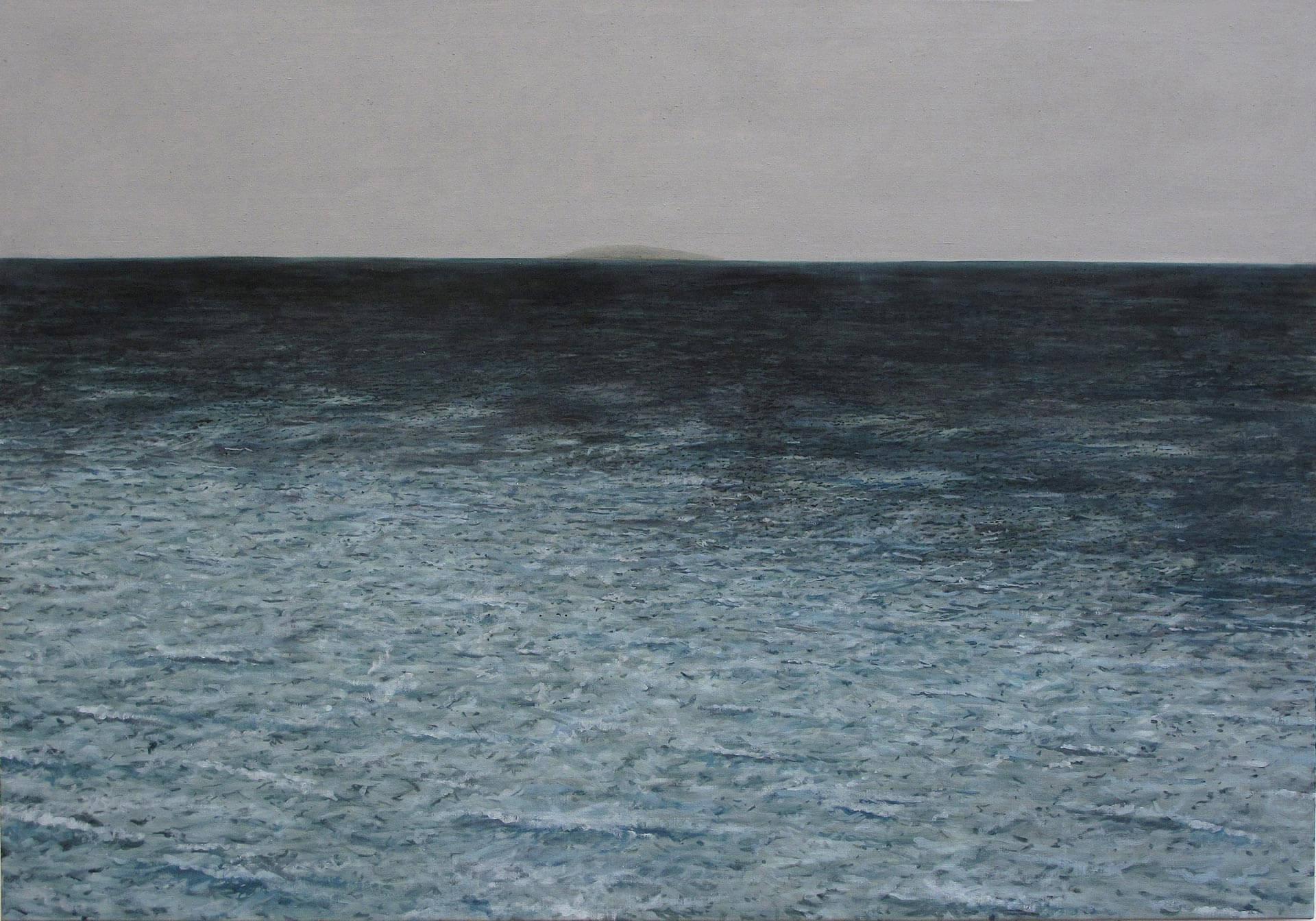 Sebastijan-Dračić-The-Island-2012-oil-on-canvas-140-x-200-cm