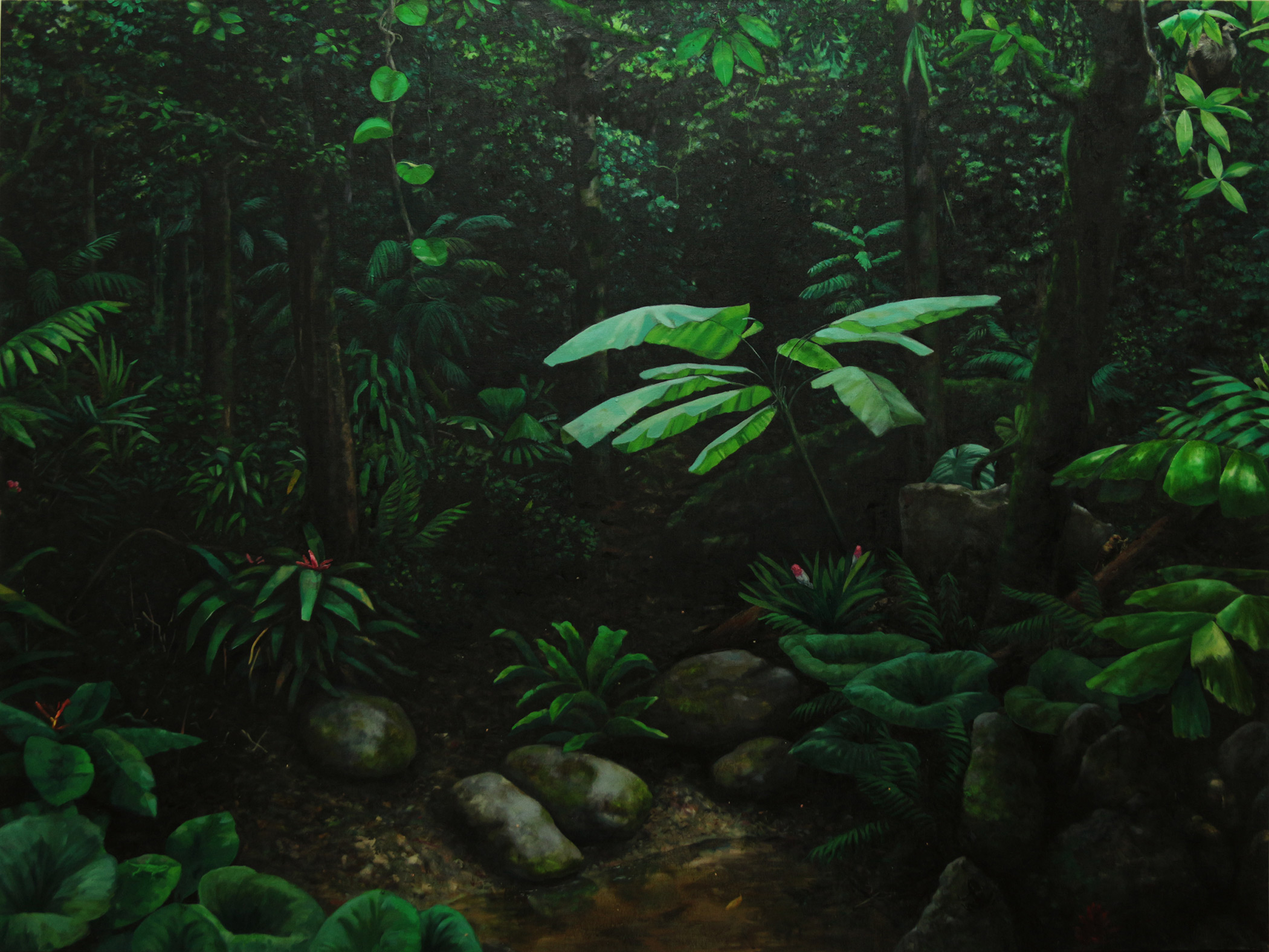 Sebastijan-Dračić,-_The-universe-is-indifferent_,-200x150-cm,-ulje-na-platnu_oil-on-canvas,-2017.