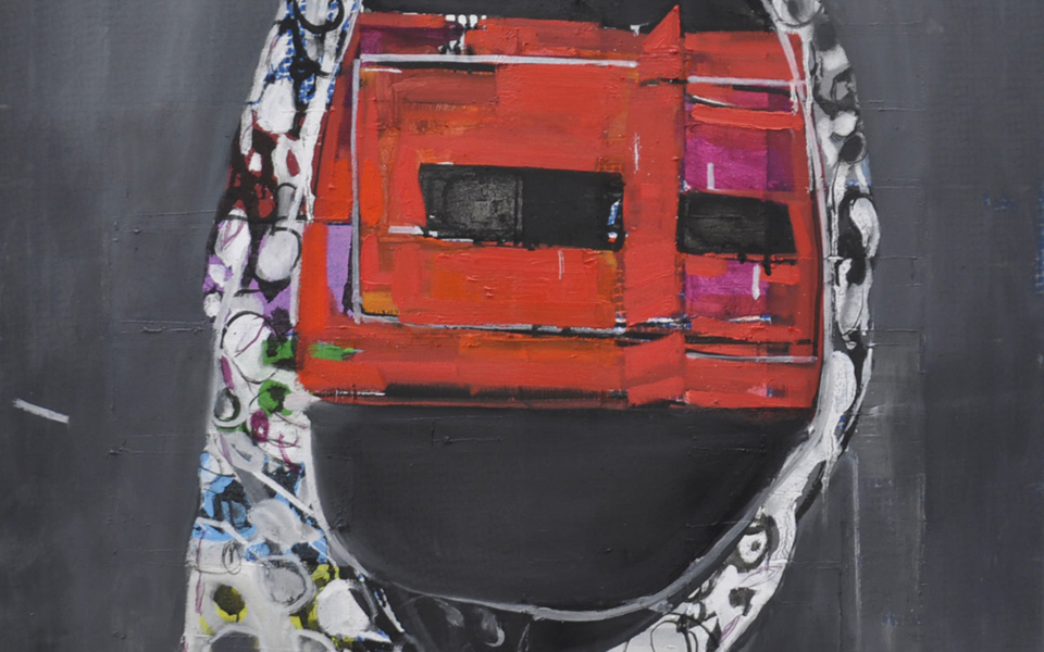 matko-vekic-the-mask-iii-oil-and-varnish-on-canvas-81×75-cm-2015